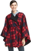 Draper James Georgia Plaid Cape