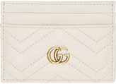 Gucci Off-white Gg Marmont Card Holder