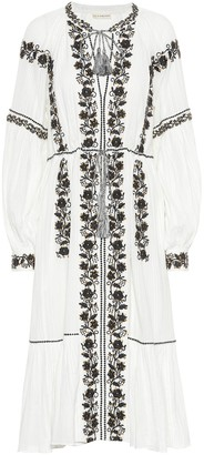 Ulla Johnson Vanita embroidered cotton dress
