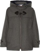 See by Chloe Wool-blend hooded jacket