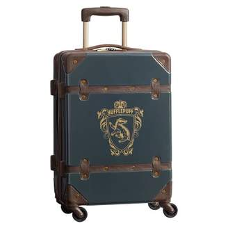 Pottery Barn Teen HARRY POTTER Hard-Sided HUFFLEPUFF Carry-on Spinner, 22&quot, Charcoal