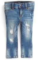 Joe's Jeans Infant Girl's 'Mended' Denim Leggings