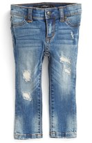 Joe's Jeans 'Mended' Denim Leggings (Baby Girls)