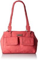 Rosetti Just Stitched Satchel Shoulder Bag