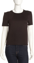 Vivienne Tam Vivienne Round-Neck Top, Black