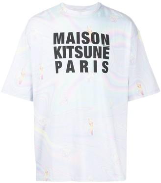 MAISON KITSUNÉ graphic print T-shirt