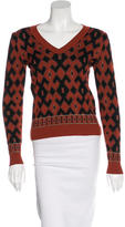 Gucci Wool Patterned Top
