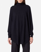 N.Peal High Side Split Cashmere Jumper