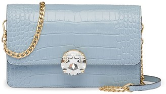 Miu Miu Crocodile Embossed Shoulder Bag