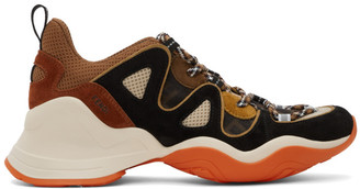 Fendi Multicolor FFluid Low-Top Sneakers
