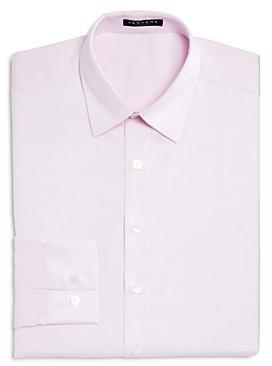 Vardama Lafayette Solid Stain Resistant Regular Fit Dress Shirt