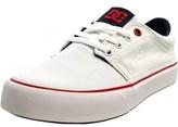 DC Trase Tx Round Toe Canvas Skate Shoe.
