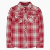 Levi's Toddler Girls (2T-4T) Long Sleeve Plaid Western Top