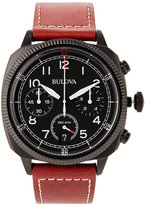 Bulova 98B245 Black & Brown Watch