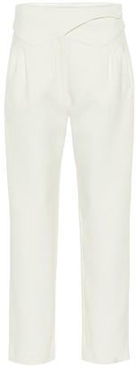 BLAZÉ MILANO Basque high-rise wool straight pants