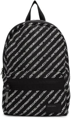 Diesel Black Discover-Me Mirano Backpack