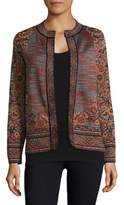 M Missoni Neck Close Portrait Jacket