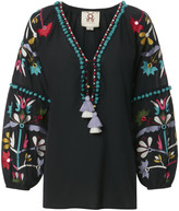 Figue Victoria Embroidered Blouse