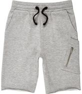 River Island Boys grey marl jersey shorts