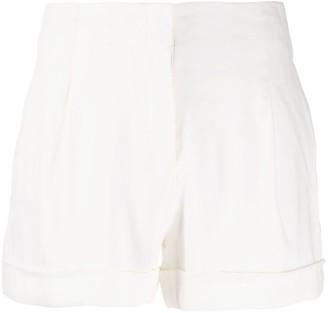 Rag & Bone Jess high-rise pleated shorts