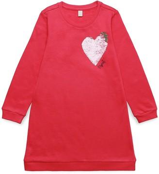 Esprit Girl's RK30223 A-Line Long Sleeve Dress