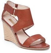 Louise et Cie Rocco Leather Espadrille Wedge Sandals