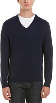 Brooks Brothers Cashmere V-neck Sweater.