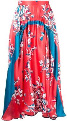 Roksanda Zelma printed midi skirt
