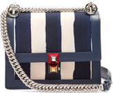 Fendi Kan I small canvas and leather cross-body bag