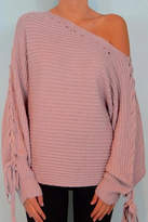 Cotton Candy Firenze Lavendar Sweater