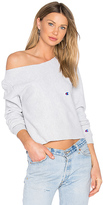 RE/DONE x REVOLVE Cropped Sweatshirt in Gray. - size 1 (XS-S) (also in 2 (M-L))