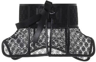 Loewe Obi Lace Belt Black