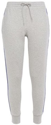 Être Cécile Jacquard-trimmed Melange Cotton-fleece Track Pants