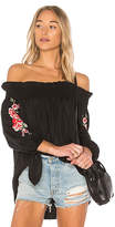Beach Riot Rose Top in Black. - size M (also in S)