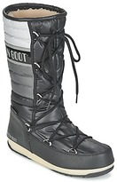 Moon Boot WE QUILTED Black / White