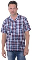 Dickies Big & Tall Plaid Camp Button-Down Shirt