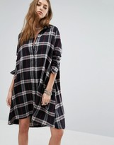 Noisy May Erik Oversize Shirt Dress