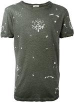 Valentino linear print t-shirt