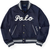 Ralph Lauren Baseball Jacket, Toddler & Little Girls (2T-6X)