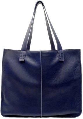 Neyuh Leather The Large Tote Navy
