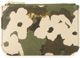 Muveil floral camouflage print purse