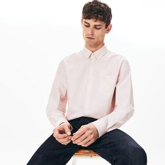 Lacoste Men's Regular Fit Cotton Mini Pique Shirt
