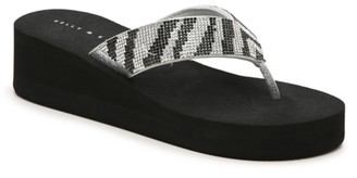 Kelly & Katie Aria Wedge Flip Flop