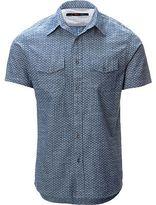 Stoic Four Corners Chambray Shirt - Short-Sleeve - Men's