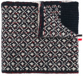 Thom Browne knitted penguin scarf