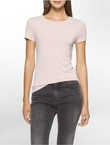Calvin Klein Liquid Jersey Crewneck T-Shirt