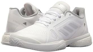 adidas by Stella McCartney Barricade Boost 2017 (White/Solid Grey/Night Steel) Women's Tennis Shoes
