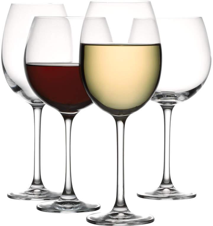 The Cellar Glassware, Set of 8 Premium Red & White Wine Glasses