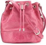 Hobo Tulia Leather Bucket Bag, Begonia