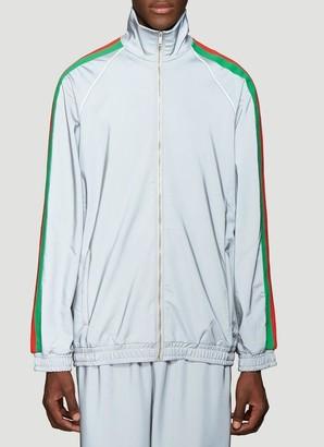 Gucci Reflector Web Track Jacket
